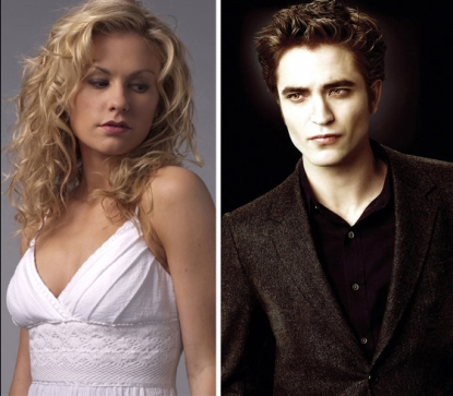 Anna Paquin of 'True Blood,' Robert Pattinson of 'Twilight'