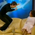 Tom Cruise jumps on 'The Oprah Winfrey Show' couch, 2005