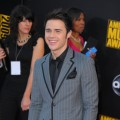 Kris Allen hits the red carpet at the 2009 American Music Awards at the Nokia Theatre L.A. Live in LA on November 22, 2009