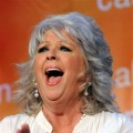Paula Deen applauds at the Women's Conference 2009 Night in Long Beach, Calif.