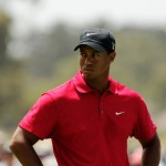 Tiger Woods at the Australian Masters on November 15, 2009