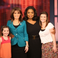 Piper Palin, Sarah Palin, Oprah Winfrey and Willow Palin on 'The Oprah Winfrey' show