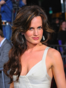Elizabeth Reaser arrives at 'The Twilight Saga: New Moon' premiere held at the Mann Village Theatre, Westwood, November 16, 2009