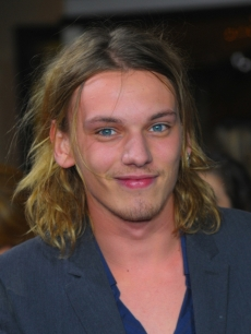 Jamie Campbell Bower arrives at 'The Twilight Saga: New Moon' premiere held at the Mann Village Theatre, Los Angeles, November 16, 2009