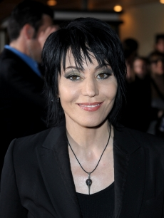 Rocker Joan Jett arrives at 'The Twilight Saga: New Moon' premiere held at the Mann Village Theatre, LA, November 16, 2009