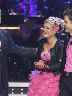 Tom Bergeron, Kelly Osbourne and Louis van Amstel on 'Dancing'
