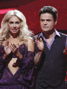 Donny Osmond and Kym Johnson on 'Dancing With the Stars'