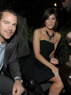 Chris O'Donnell, Jennifer Carpenter, and January Jones attend the GQ 'Men Of The Year' party held at Chateau Marmont on November 18, 2009 in Hollywood, California