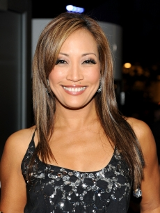 Carrie Ann Inaba backstage at the 2009 American Music Awards at Nokia Theatre L.A. Live on November 22, 2009 in Los Angeles