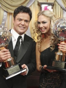 After 10 weeks of surprises and dazzling performances, Donny Osmond and partner Kym Johnson were crowned champions of 'Dancing With the Stars,' on November 24, 2009