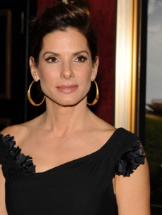 Sandra Bullock at 'The Blind Side' premiere on November 17, 2009