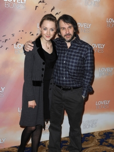 Saoirse Ronan and Peter Jackson promote &#8216;The Lovely Bones&#8217; in Paris, November 30, 2009