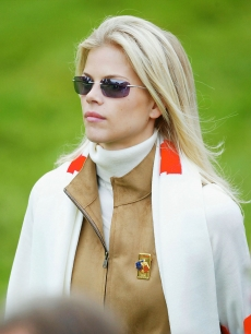 Elin Nordegren, Sept. 2002