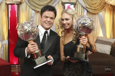 After 10 weeks of surprises and dazzling performances, Donny Osmond and partner Kym Johnson were crowned champions of &#8216;Dancing With the Stars,&#8217; on November 24, 2009