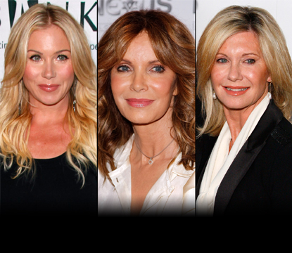 Christina Applegate/Jaclyn Smith/Olivia Newton-John