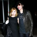 Evan Rachel Wood and Marilyn Manson arrive for the after party for a special screening of 'Across The Universe,' NYC, Sept. 13, 2007