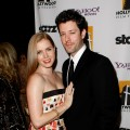 Amy Adams and Darren Le Gallo arrive at the Hollywood Film Festival's Gala Ceremony held at Beverly Hilton Hotel on October 27, 2008
