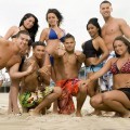 The cast of MTV&#8217;s &#8216;Jersey Shore&#8217; &#8212; Angelina, Jenni, Nicole, Mike, Vinnie, DJ Pauly D, Ronnie &amp; Sammy