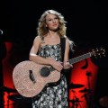 Taylor Swift performs onstage during Z100&#8217;s Jingle Ball 2009 presented by H&amp;M at Madison Square Garden on December 11, 2009 in New York City