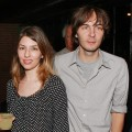 Sofia Coppola and Thomas Mars attend the 'Broken English' premiere after party at the Bowery Hotel, NY, June 18, 2007