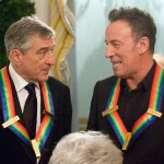 Robert De Niro and Bruce Springsteen share a moment at the Kennedy Center Honors following the Artist's Dinner at the U.S. Department of State in Washington, D.C. on December 5, 2009