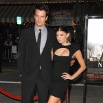 Fergie looks chic alongside her husband Josh Duhamel at the red carpet arrivals for a special screening of &#8216;Nine&#8217; in Westwood, California, on December 9, 2009