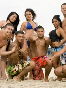 The cast of MTV's 'Jersey Shore' — Angelina, Jenni, Nicole, Mike, Vinnie, DJ Pauly D, Ronnie & Sammy