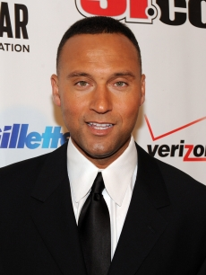Derek Jeter attends the 2009 Sports Illustrated Sportsman of the Year Celebration at The IAC Building on December 1, 2009 in New York City