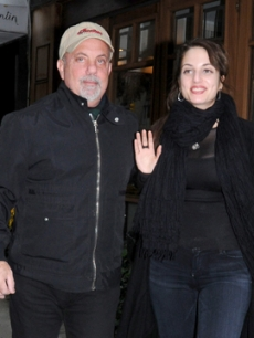 Billy Joel and daughter Alexa Ray Joel in October 2009