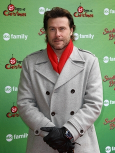 Dean McDermott attends the ABC Family's world record elf party to promote 'Santa Baby 2: Christmas Maybe' at Bryant Park, NYC, December 7, 2009