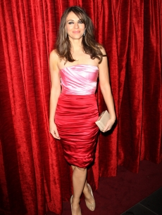 The stunning Elizabeth Hurley attends the gala premiere afterparty of &#8216;Did You Hear About The Morgans?&#8217; held at Aqua on December 8, 2009 in London, England