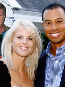 Elin Nordegren and Tiger Woods (Inset: Donny Deutsch)