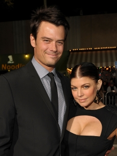 Josh Duhamel and wife Fergie arrive at the Los Angeles premiere of the Weinstein Company's 'NINE,' December 9, 2009