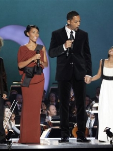 Jaden Smith, Jada Pinkett Smith, Will Smith and Willow Smith step out at the Nobel Concert in Oslo, Norway, to celebrate President Barack Obama's Nobel Prize on December 11, 2009