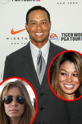 Tiger Woods, Rachel Uchitel, Jaimee Grubbs