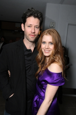 Darren Le Gallo and Amy Adams at Walt Disney Pictures/Miramax's pre-Oscar party on February 20, 2009 at the London West Hollywood