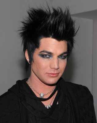 Adam Lambert attends the launch of VEVO, NYC, December 8, 2009