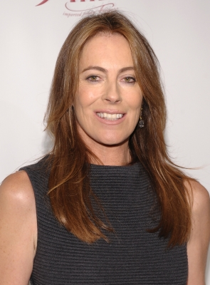 Katherine Bigelow poses backstage at IFP's 19th Annual Gotham Independent Film Awards at Cipriani, Wall Street on November 30, 2009