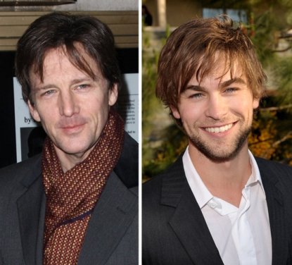 Andrew McCarthy and Chace Crawford