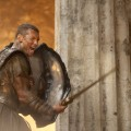Sam Worthington readies for battle in &#8216;Clash of the Titans&#8217;