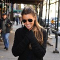Rachel Uchitel seen on the streets of Manhattan on December 10, 2009