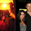 Paula Abdul celebrates NYE in Thailand (left), Lea Michele and Cory Monteith step out to a 'Glee' event, Nov