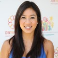Figure skater Michelle Kwan arrives at A Time for Heroes Celebrity Carnival Sponsored by Disney, benefiting the Elizabeth Glaser Pediatric AIDS Foundation, held at Wadsworth Theatre, Los Angeles, June 7, 2009