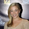 LeAnn Rimes attends the Holiday Tree Lighting at L.A. LIVE on December 3, 2009 in Los Angeles