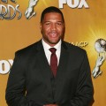 Michael Strahan on Jan. 6, 2010 at the NAACP Image Award Nominations