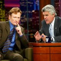 Conan O&#8217;Brien and Jay Leno on September 5, 2003