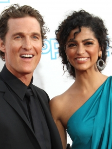 Matthew McConaughey and Camila Alves in June 2009