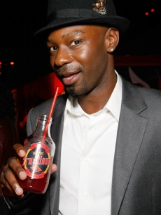 Nelsan Ellis attends the after party for the Los Angeles premiere of HBO's series 'True Blood' at the Cinerama Dome on September 4, 2008 in Hollywood, California