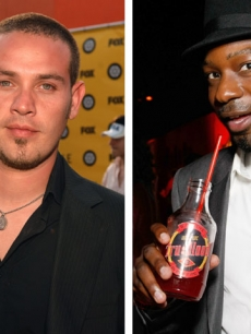 Kevin Alejandro and Nelsan Ellis