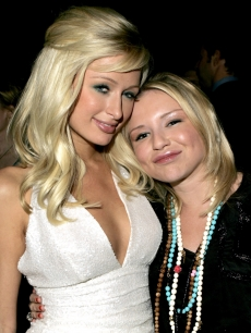 Paris Hilton and Casey Johnson in April 2005